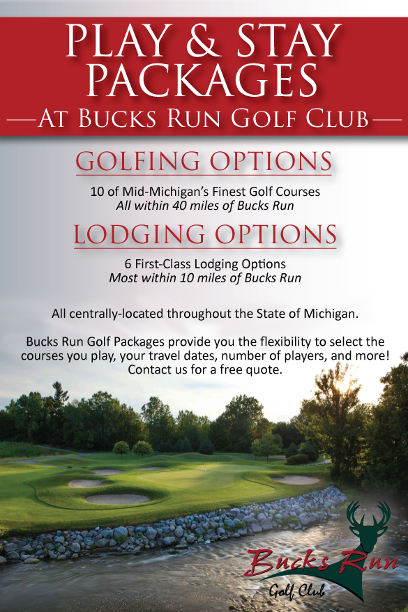 Stay and Play golf packages - Bucks Run Golf Club
