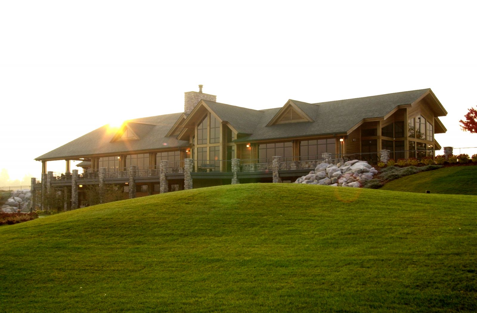 Image Of The Bucks Run Clubhouse At Michigan Golf Courses - Bucks Run Golf Club