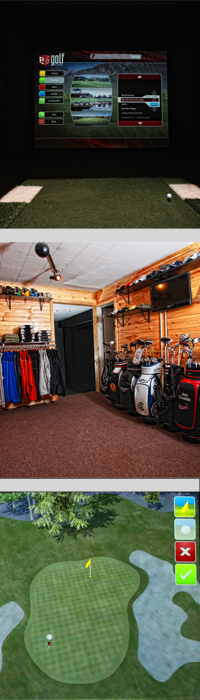 Bucks Run Virtual Golf Simulator Mount Pleasant Michigan