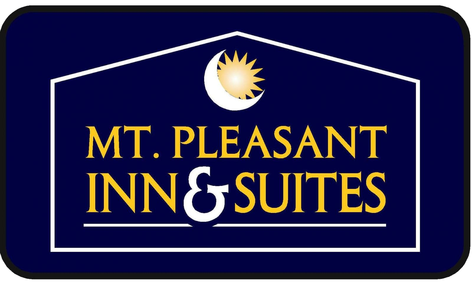 Mt. Pleasant Inn & Suites Logo Image For Golf Resort Michigan - Bucks Run Golf Club
