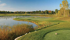 Picture Of Michigan Golf Courses In The Fall - Bucks Run Golf Club