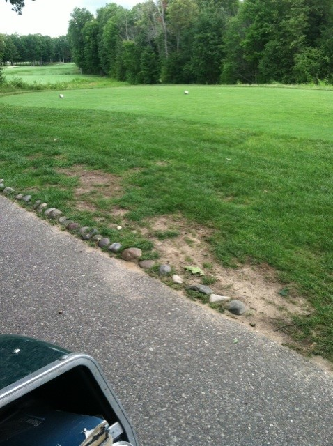 Bucks Run Golf Club Mount Pleasant MI Tee Heavy Traffic 6