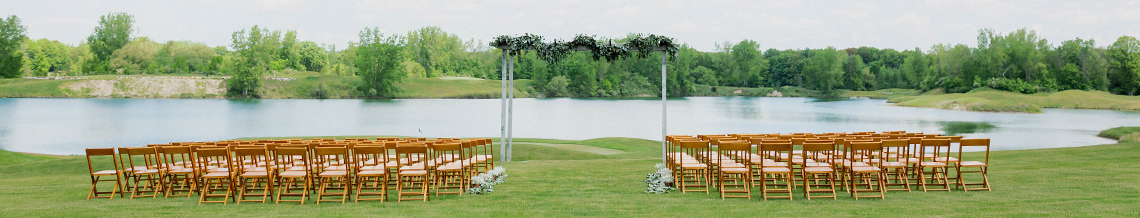 Bucks Run Golf Club Outdoor Wedding Venue