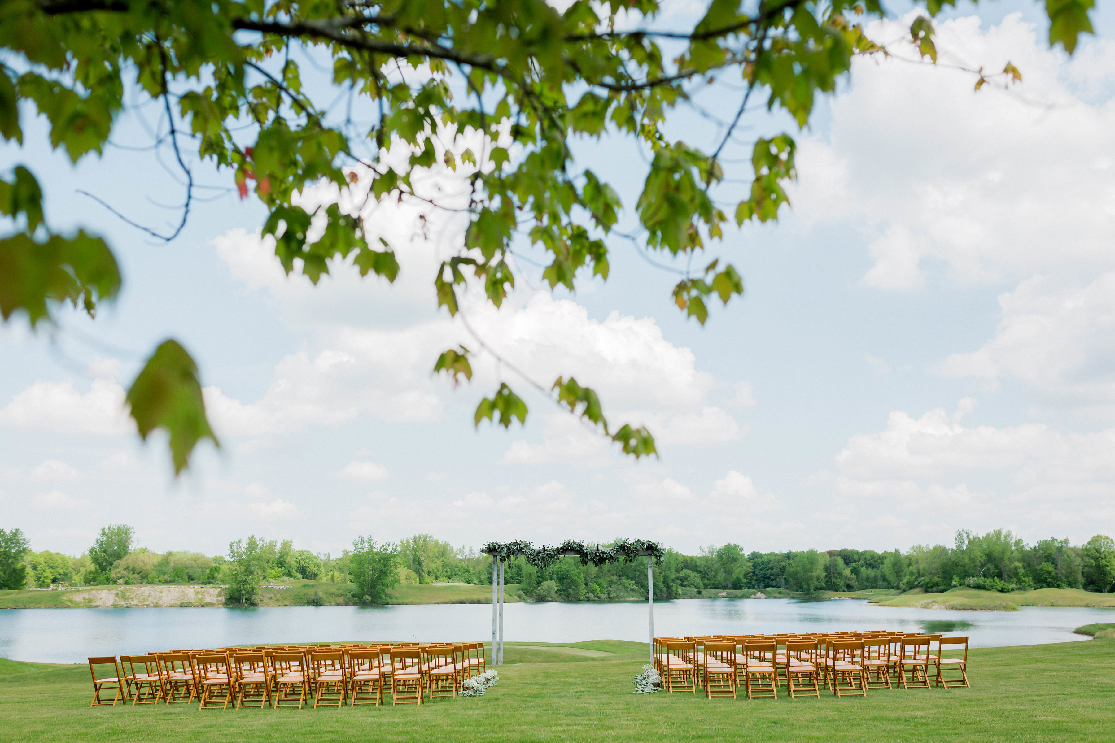 Bucks Run Golf Club Outdoor Wedding
