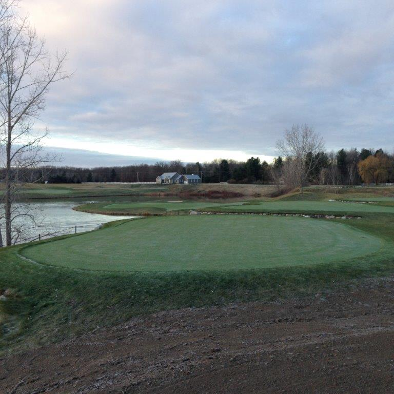 Bucks Run Golf Club View from New 14 Tee Box