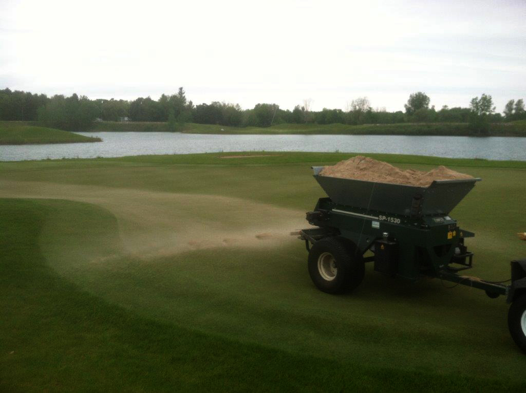 Bucks Run Golf Club Top Dressing