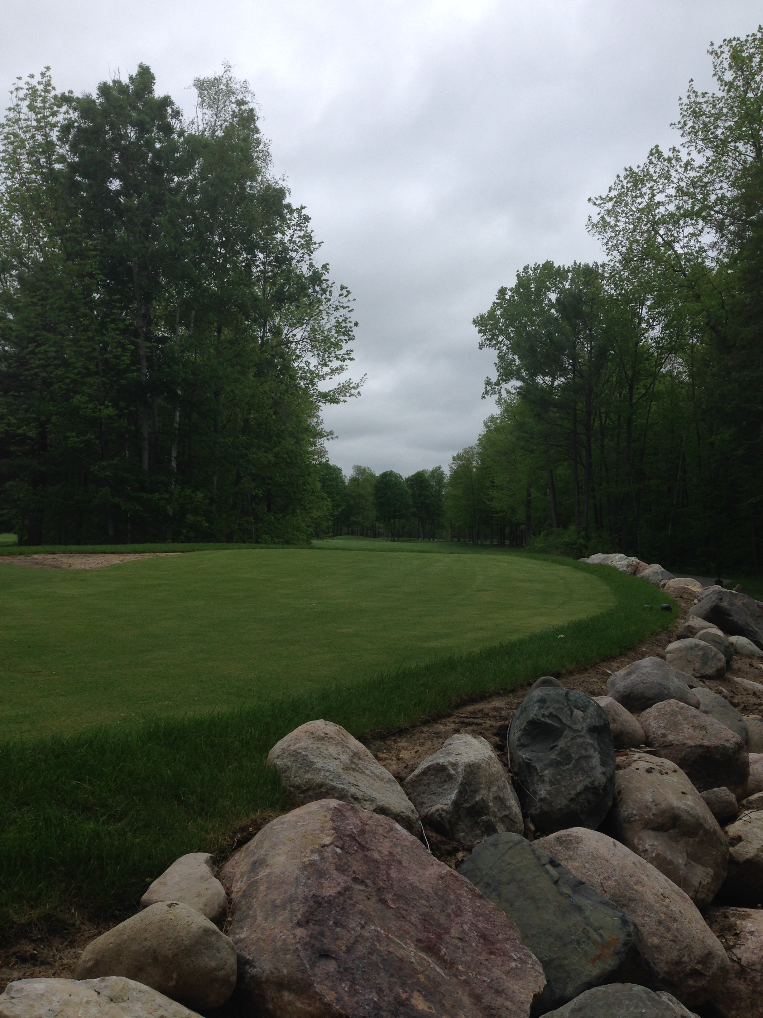 Bucks Run Golf Club Mount Pleasant MI Tee 11 Renovation