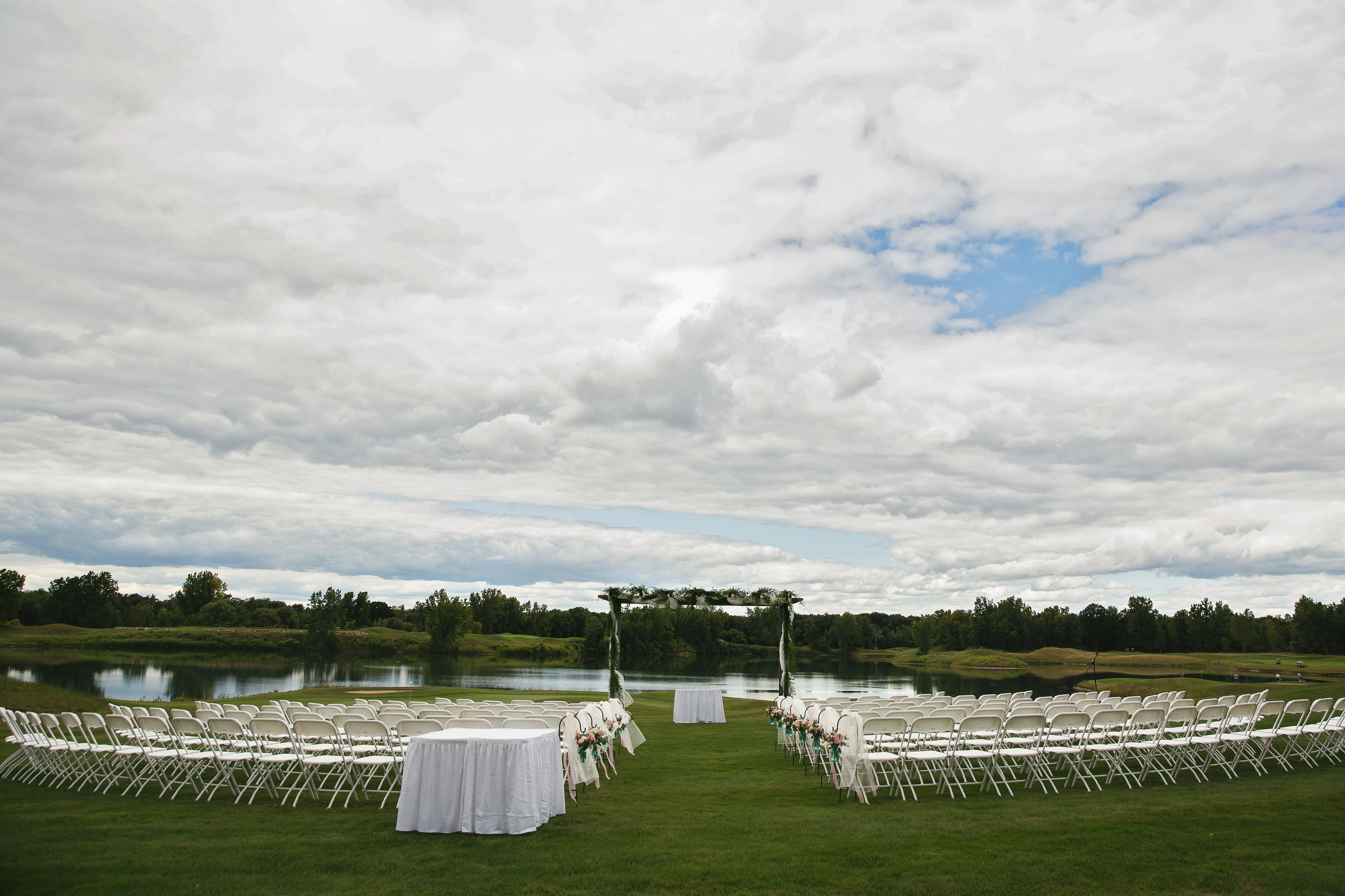 Bucks Run Waterfront Wedding